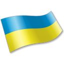 Ukraine Flag 2 icon