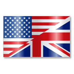 English Language Flag 1 icon
