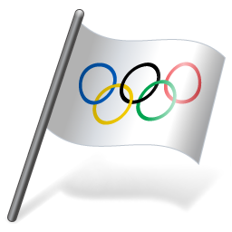 International Olympic Committee Flag 3 icon