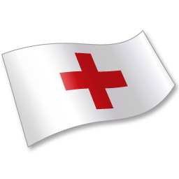 International Red Cross Flag 2 icon