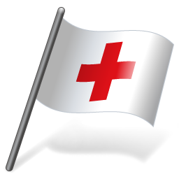 International Red Cross Flag 3 icon