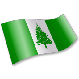 Norfolk Island Flag 2 icon