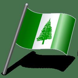 Norfolk Island Flag 3 icon