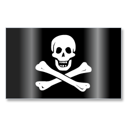 Pirates Jolly Roger Flag 1 icon