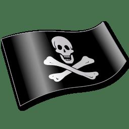 Pirates Jolly Roger Flag 2 icon