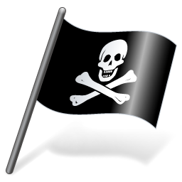 Pirates Jolly Roger Flag 3 icon