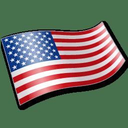 United States Flag 2 icon