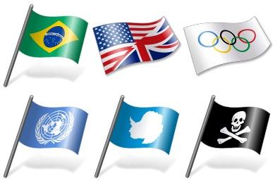 Vista Flags Icons