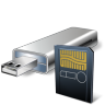USB-Flash-Card-With-Card-Reader icon