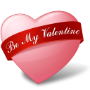 Heart BeMyValentine icon