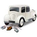 Wedding Car Back icon