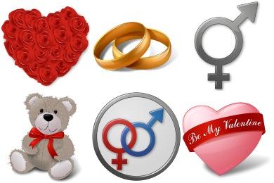 Vista Love Icons