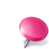 Map-Marker-Drawing-Pin-Right-Pink icon