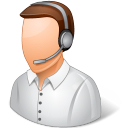 Occupations-Technical-Support-Representative-Male-Light icon