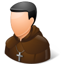 Religions Catholic Monk icon