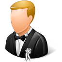 Wedding-Groom-Light icon