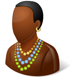 Nations African Male icon