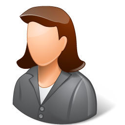 Office Client Female Light icon