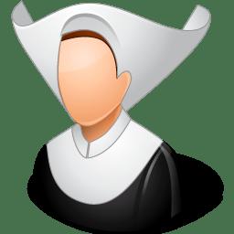 Religions Catholic Nun icon