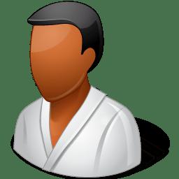 Sport Wrestler Male Dark icon