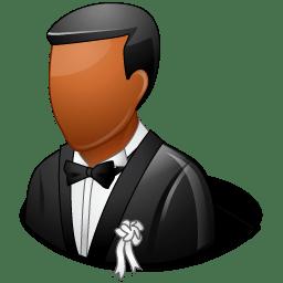 Wedding Groom Dark icon