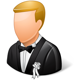 Wedding Groom Light icon