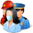 Groups Rescuers Light icon