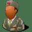 Medical-Army-Nurse-Male-Dark icon