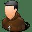 Religions Catholic Monk icon