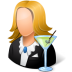 Occupations-Bartender-Female-Light icon