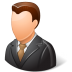 Office-Client-Male-Light icon