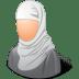 Religions-Muslim-Female icon