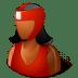 Sport-Boxer-Female-Dark icon