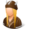 Historical-Viking-Female icon