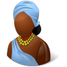 Nations-African-Female icon