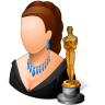 Occupations-Actor-Female-Light icon