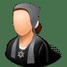 Religions-Jew-Female icon