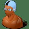 Sport-Swimmer-Male-Dark icon