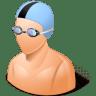 Sport-Swimmer-Male-Light icon