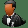 Wedding-Groom-Dark icon