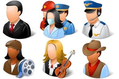 Vista People Icons