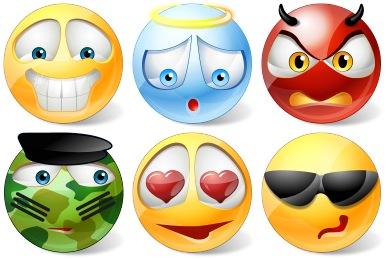 Vista Style Emoticons Icons