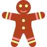 Gingerbread-men icon