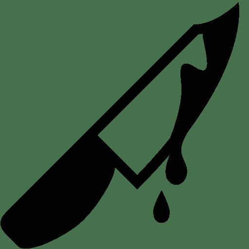 Horror-knife icon