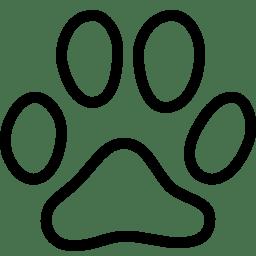 Animals Cat Footprint icon