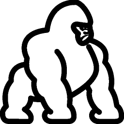 Animals Gorilla icon