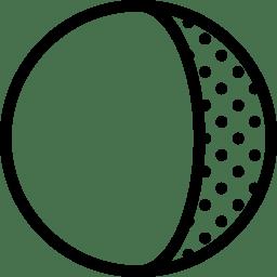 Astrology Waning Gibbous icon