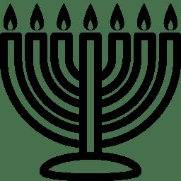 Cultures Menorah icon