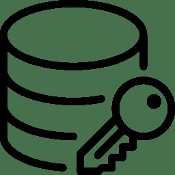 Data Database Encryption icon
