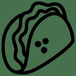 Food Taco icon